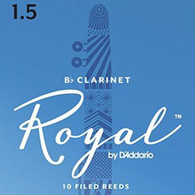 D'Addario Royal stroik do klarnetu Bb, twardość: 1,5 (10 szt.) RCB1015