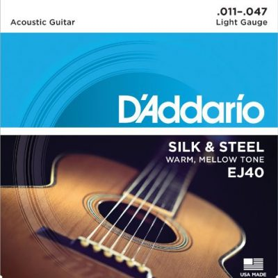 D'Addario Silk and Steel Strings EJ40