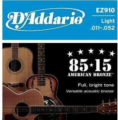 DAddario struny do gitary akustycznej American Bronze EZ910