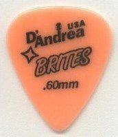 DANDREA Brites kostka gitarowa 0.6 mm