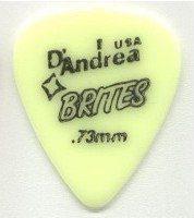DANDREA Brites kostka gitarowa 0.73 mm