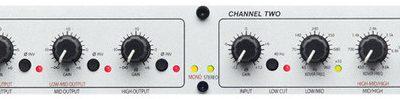 dbx 234 S - stereo 2/3 drożna/mono 4 drożna silver
