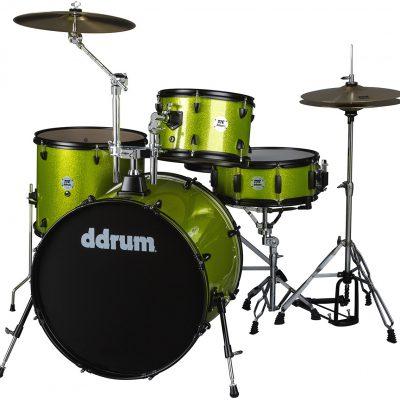 DDrum D2 Rock Lime Sparkle - akustyczny zestaw perkusyjn 29112