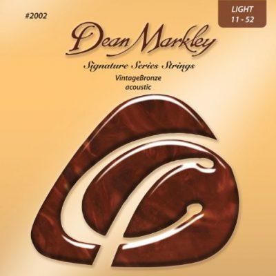 Dean Markley 2002A Vintage Bronze grubość strun do gitary akustycznej, LT 1146 DM2002