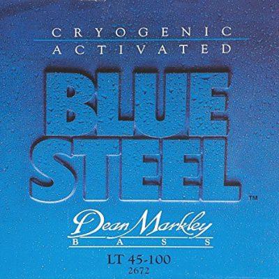 Dean Markley 2672Blue Steel struny do .100W obudowie Bass akcesoria gitarowe .045Light 4strun DM2672