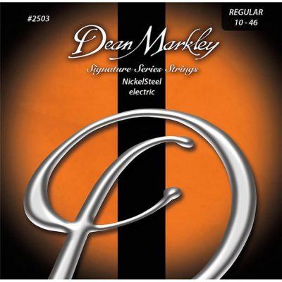 Dean Markley SIGNATURE NICKEL STEEL 2503 REG .010-.046 - Struny do gitary elektrycznej