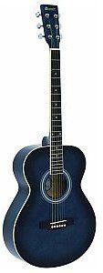 Dimavery AW-303 western-guitar, blueburst, gitara akustyczna 26242005