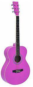 Dimavery AW-303 western-guitar, pink, gitara akustyczna 26242008