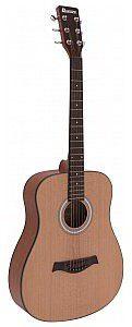 Dimavery AW-380 Western Gitara akustyczna w kolorze naturalnym 26242023