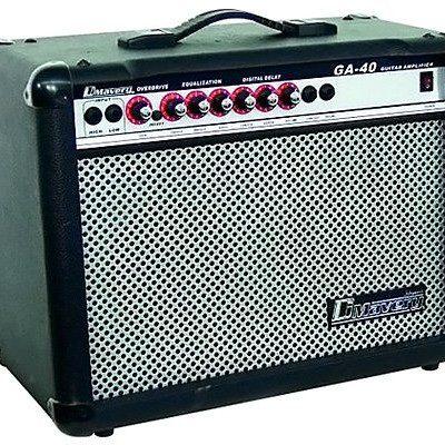 Dimavery DIMAVERY 26360140GA-40R E-akcesoria gitarowe Amplifier (40Watt) 26360140