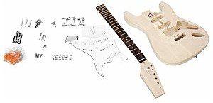 Dimavery DIY ST-20 Zestaw do budowy gitary elektrycznej 26255834