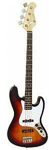 Dimavery JB-302 E-Bass, sunburst, gitara basowa 26222030