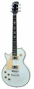 Dimavery LP-700L E-Guitar LH, white, gitara elektryczna leworęczna 26219382