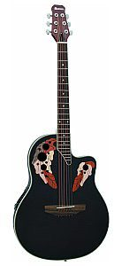 Dimavery OV-500 Roundback, black, gitara akustyczna 26235035