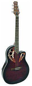 Dimavery OV-500 Roundback, red, gitara akustyczna 26235026