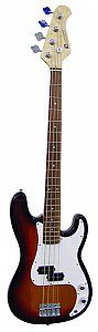 Dimavery PB-320 E-Bass, sunburst, gitara basowa 26221030