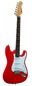 Dimavery ST-203 E-Guitar, red, gitara elektryczna 26211050