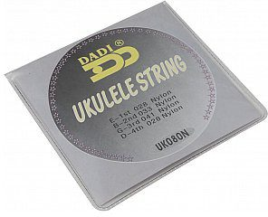 Dimavery Struny do ukulele by DADI String set Ukulele, 028-041 26320084