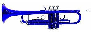 Dimavery TP-10 Bb trąbka, blue 26503115