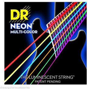 DR NMCE9 Neon struny do gitary elektrycznej 9-42