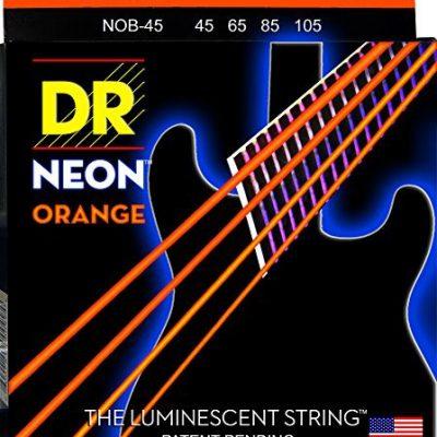 DR Strings nob45struny NEON 45-105 ORANGE