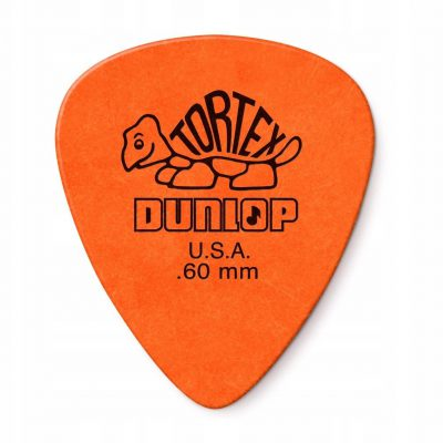 Dunlop 418R Tortex Standard 0,60mm Kostka Gitarowa