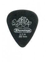 Dunlop 482R Tortex Pitch Black Jazz kostka gitarowa 0.50mm