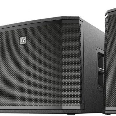 Electro-Voice 2x ETX12P 1x ETX18SP - zestaw nagłośnieniowy aktywny