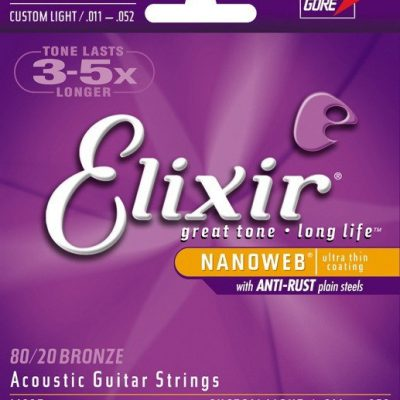 Elixir struny do gitary akustycznej Nanoweb 11-52 11027