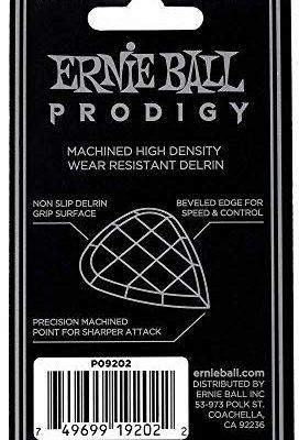 Ernie Ball 2,0 mm białe standardowe kostki gwiazdkowe 6-pak P09202