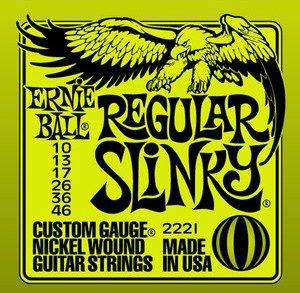 Ernie Ball 2221 struny do gitary elektrycz 10-46