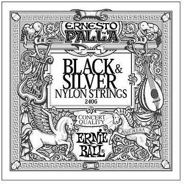 Ernie Ball 2406 Black & Silver Nylon Strings
