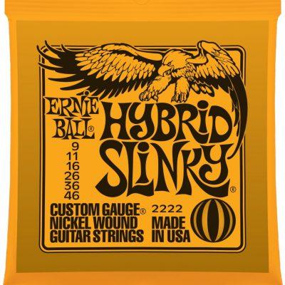 Ernie Ball EB 2222 seria NICKEL WOUND SLINKY - struny do gitary