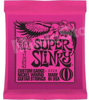 Ernie Ball Super Slinky Nickel Wound 9-42