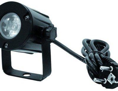 Eurolite 51916100PST LED Spot światło (o mocy 3W, 3200K) 51916100
