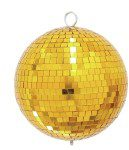 Eurolite złota kula lustrzana lustrzana 20cm