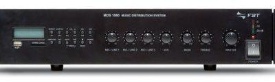 FBT Audio Contractor MDS-1060 wzmacniacz mocy linii 100V z odtwarzaczem MP3