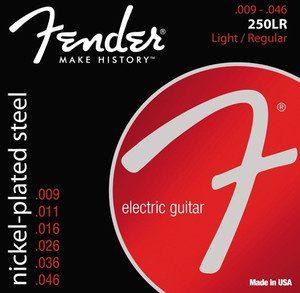 Fender 250LR struny do gitary elektrycznej 9-46