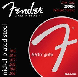 Fender 250RH struny do gitary elektrycznej 10-52