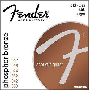Fender 60L 12-53 struny do gitary akustycznej