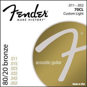 Fender 70CL 11-50 struny do gitary akustycznej
