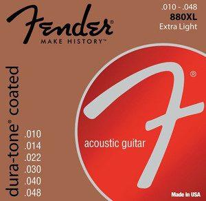 Fender 880XL 10-48 struny do gitary akustycznej