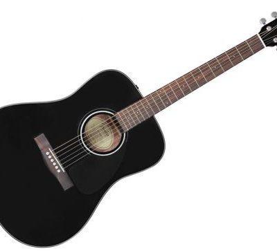 Fender CD-60 Dread V3 BLK