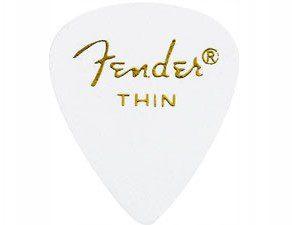 Fender classic celluloid Thin 351 kostka gitarowa