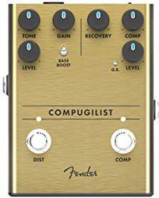 Fender COMPUGILIST Sprężarka/Distortion Pedał z efektem podłogowym 0234551000