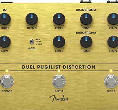 Fender DUEL PUGILIST DISTORTION pedał z efektem podłogowym 234562000