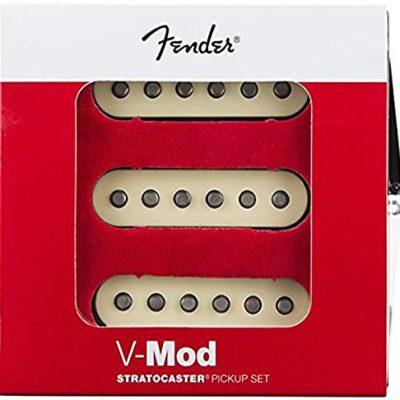 Fender Zestaw przetworników V-Mod Stratocaster do gitary elektrycznej - kolor: biały 992266000