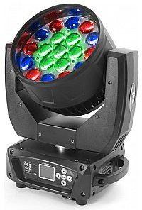 Flash Butrym Ruchoma głowa 4x LED Moving Head 19x15W RGBW ZOOM - 3 sections (SET) F7100521