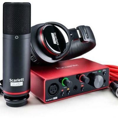 Focusrite Scarlett Solo STUDIO 3Gen + ABLETON + PRO TOOLS!