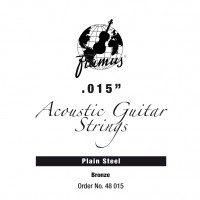 Framus Bronze struna pojedyncza do gitary akustycznej 015 plain